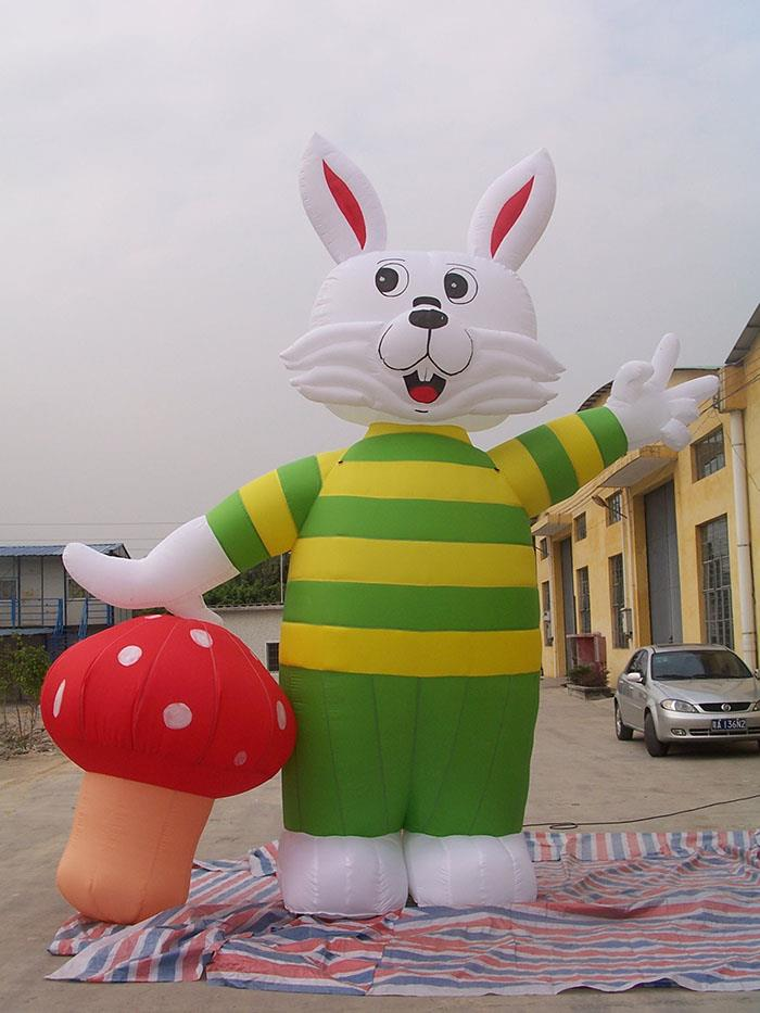 Inflatable Rabbit