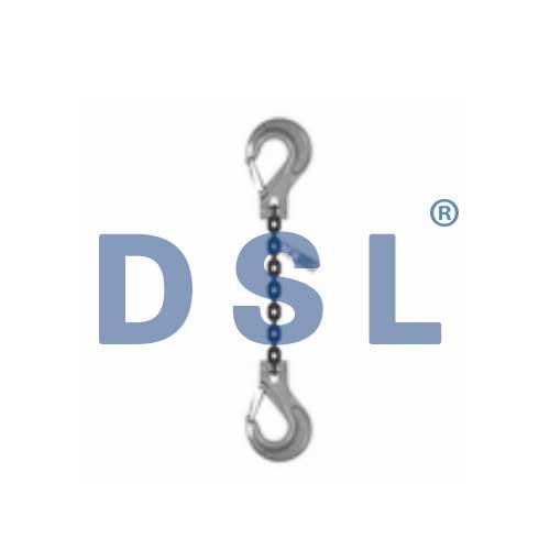 Grade 80 SSS Single Leg Chain Sling with Sling Hooks.jpg