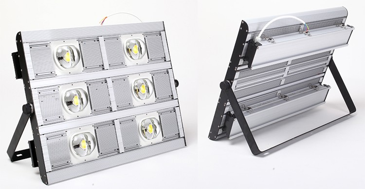 Waterproof IP68 integrated COB factory industrial light 400W LED floodlight