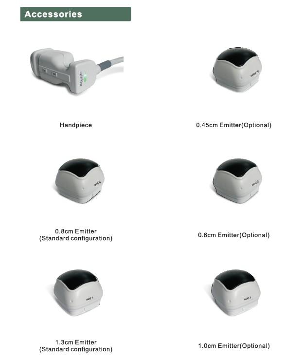 accessories of liposonix.JPG