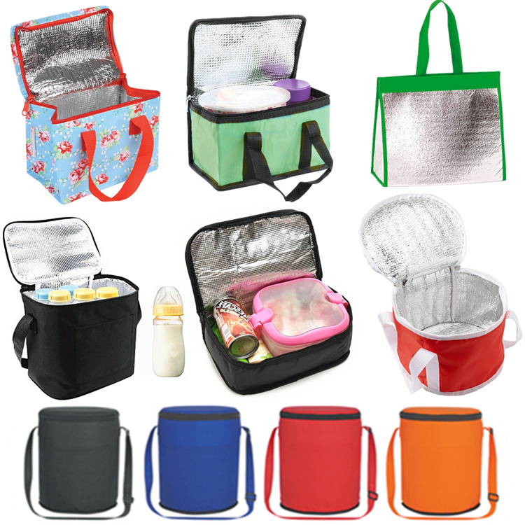 Thermal lined beer keg cooler bag round,Foil can shape cooler bag