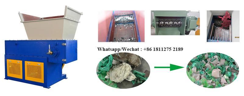 Industrial one shaft waste plastic shredder (9).jpg