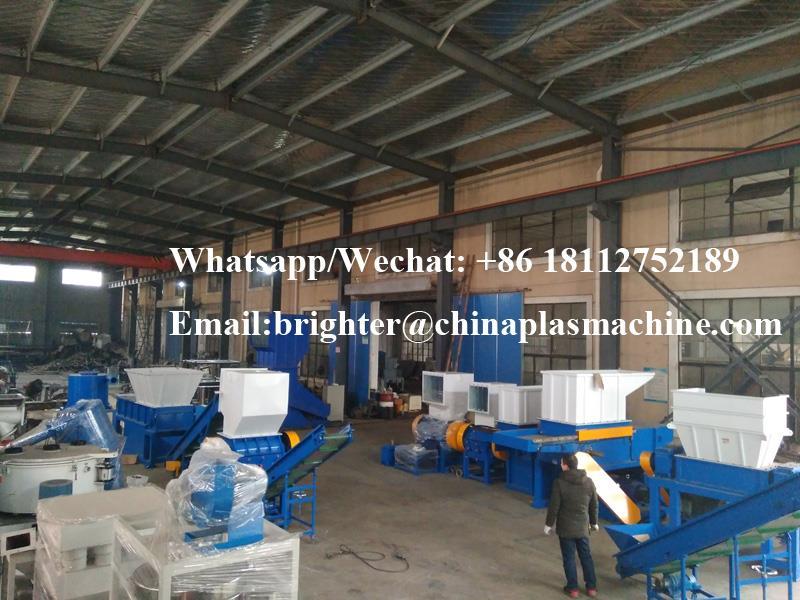 Industrial single shaft plastic waste shredder (12).jpg