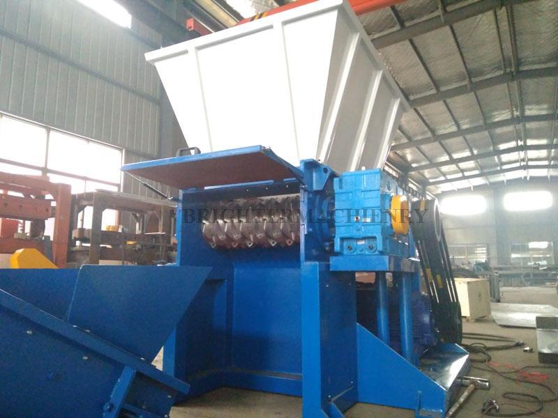 Industrial plastic lumps shredding machine.jpg