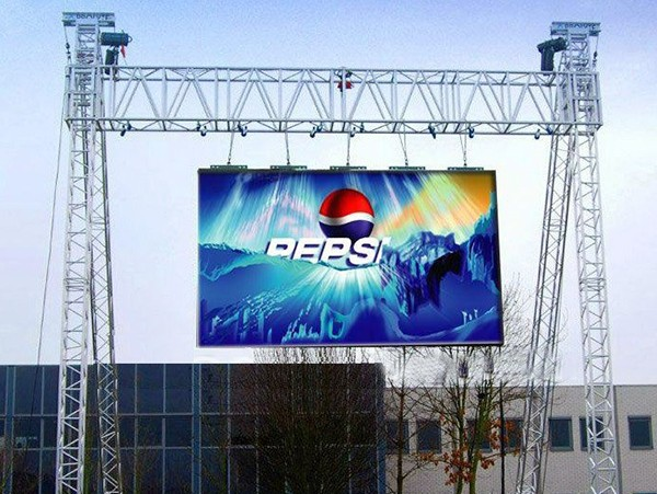P5 led display rental