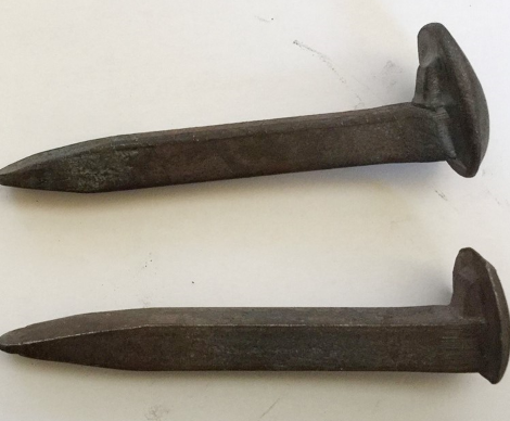 railroad spike metal