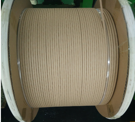 insulated flat copper wire