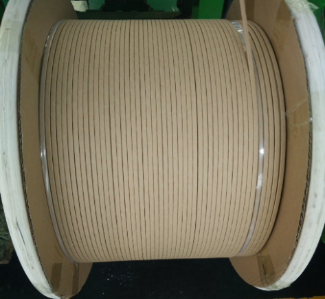 flat copper wire insulated