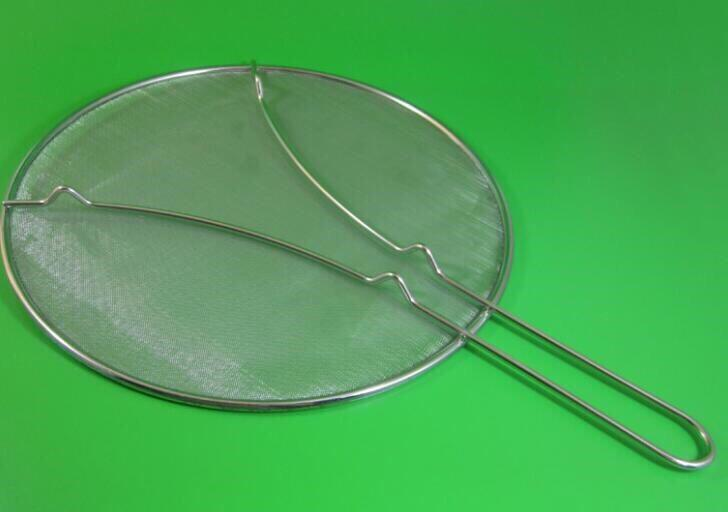 Kitchen cooking grease splatter screen stainless steel