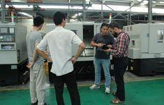 Sewing Inside Shuttle Grinder CNC lathe workshop