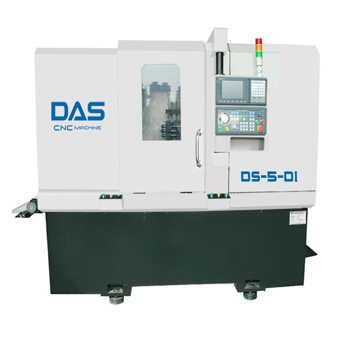 Double Spindle CNC Turning Lathe Machine
