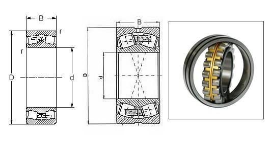 roller bearing 22224 22224cc/w33 22224E