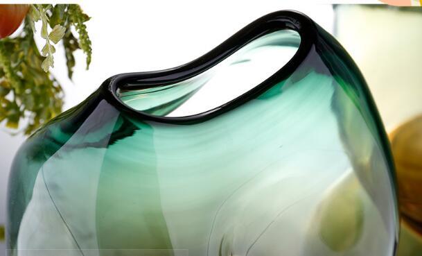 Unique design glass vase