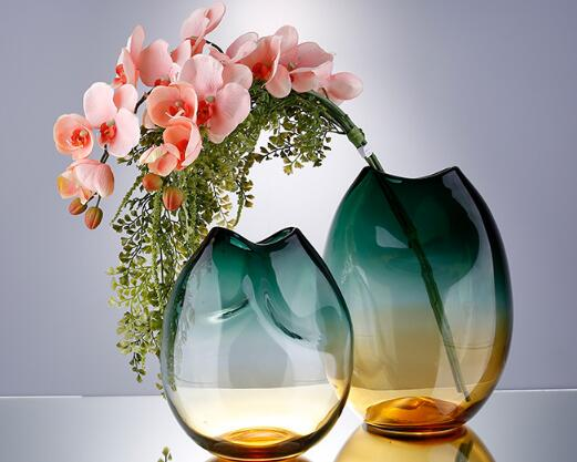 Unique design glass vase