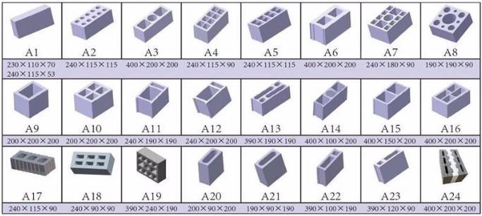concrete blocks making machine prices