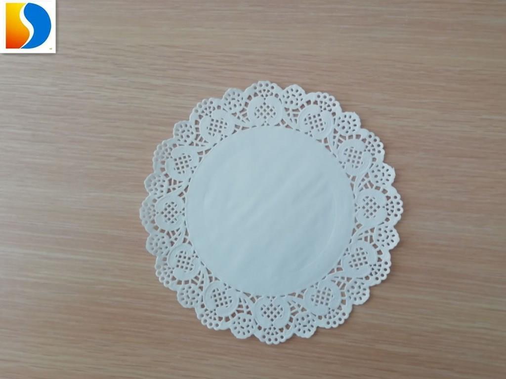 5.5 inch paper lace doilies