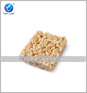Equipo de barra de caramelo crujiente de arroz