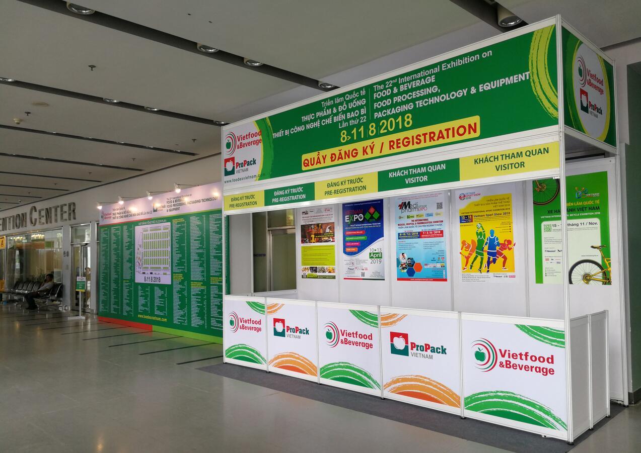 Scene of 2018 Vietfood&Beverage Exhibition-hanyuan machinery4.jpg