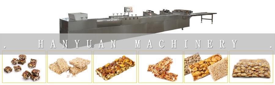 Kkae-ttangkong Gongjeong (Peanut Sesame Candy) Cuttting Machine