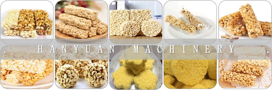 Good Quality Rice Crispy Bar Processing Line/hanyuan Janny +86 15851039938