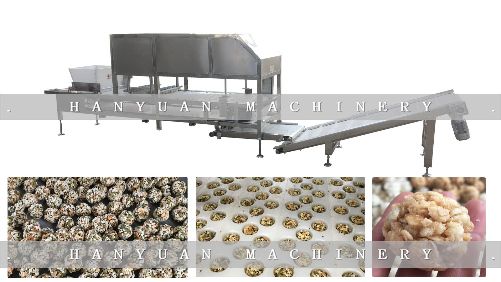 HY-260 Gingelly Seed ball Forming Machine5