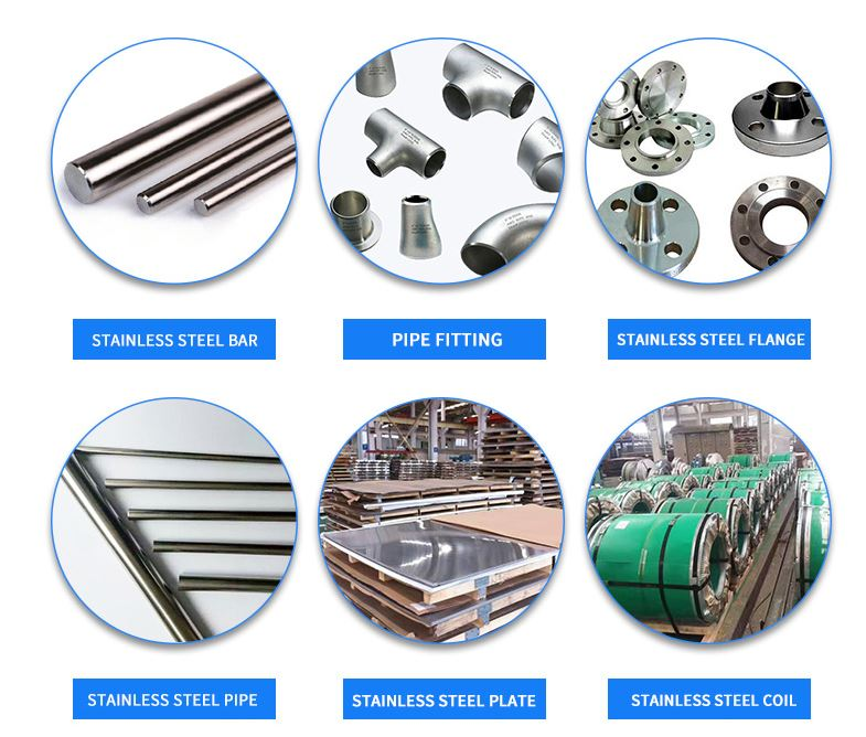 stainless steel pipe/coil/bar/sheet