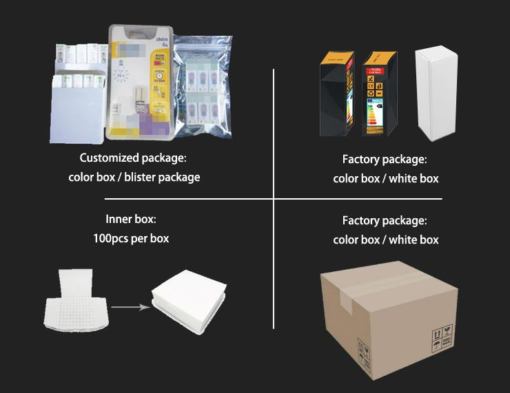Pakiet oświetleniowy LED Yiode G4 G9 E14 MR11
