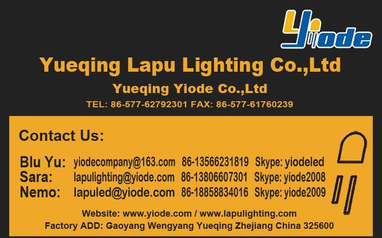 Oświetlenie LED Yiode G4 G9 E14 MR11 skontaktuj się z nami