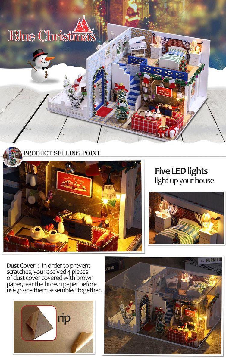 Doll House Christmas Furniture Kit