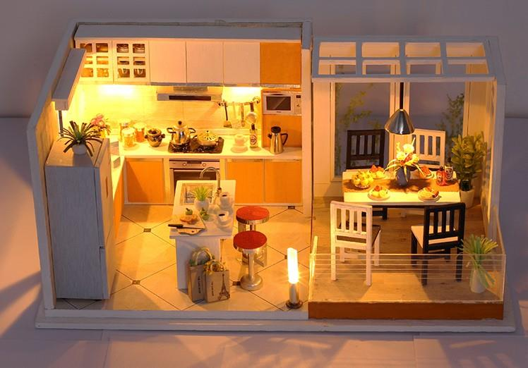how to build Diy House Miniature Kitchen