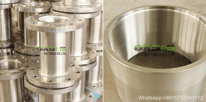 API casing pipe flange thread END2