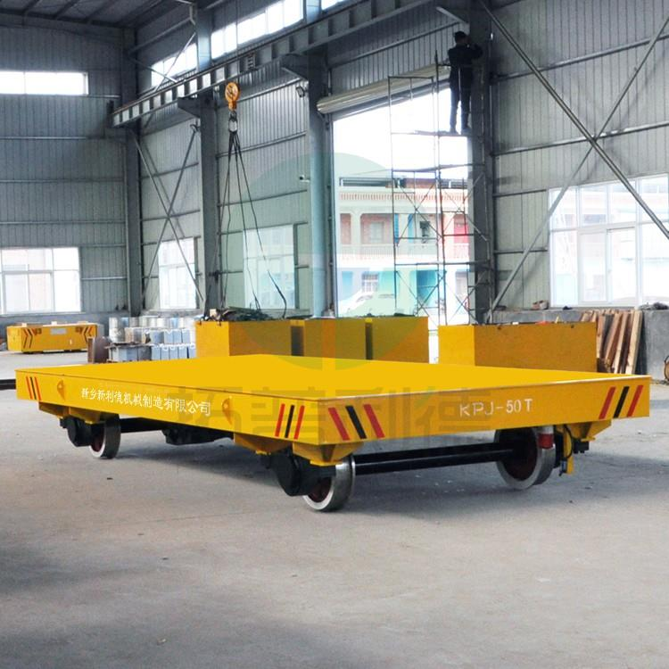 Electric Flat Handling Cart