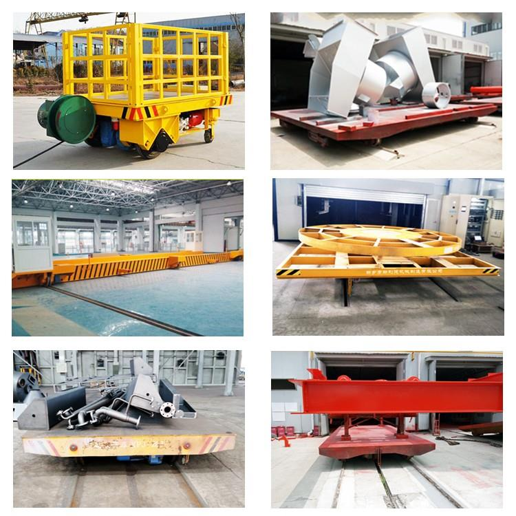 Motorized Material Handling Trailer