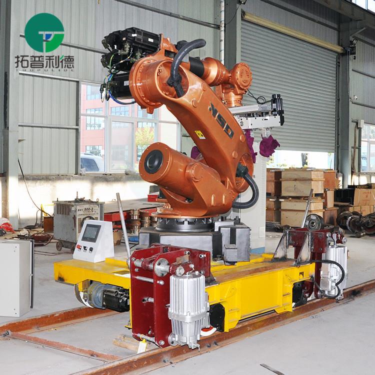 روبوت التعامل مع السكك الحديدية العربة