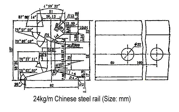 24kg light rail
