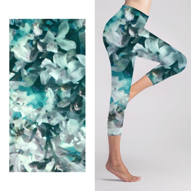 Polyester Yogahosen Stoff