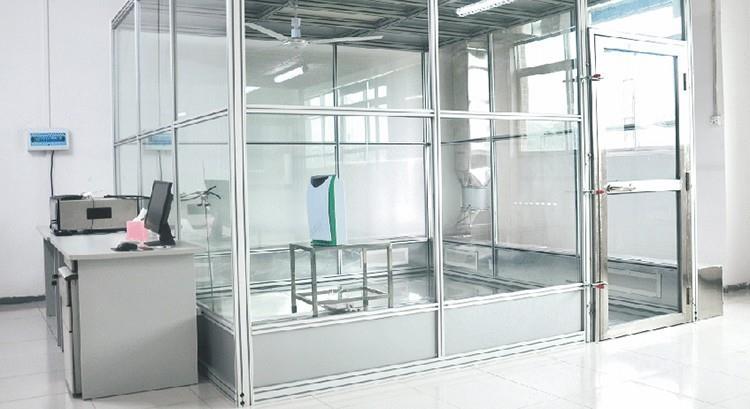 Profession air purifier testing cabin