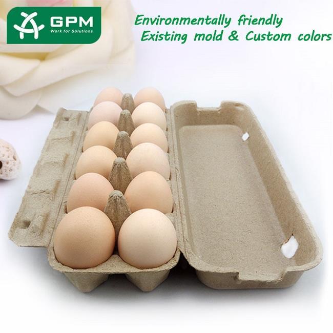 China Molded Pulp Egg Box
