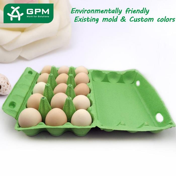 China Biodegradable Paper Egg Box
