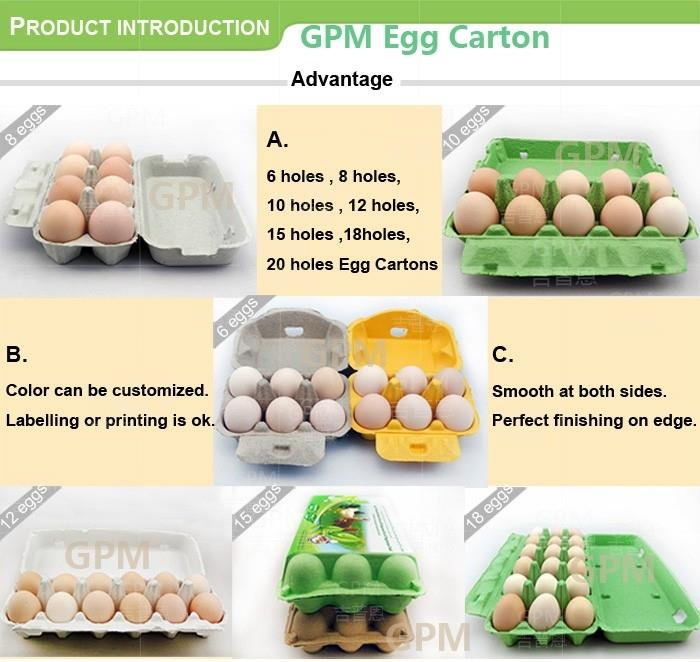 Biodegradable Paper Egg Box freight
