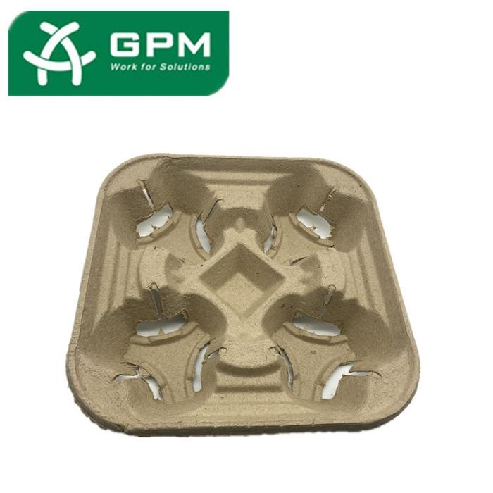 China Paper Pulp Cup Tray