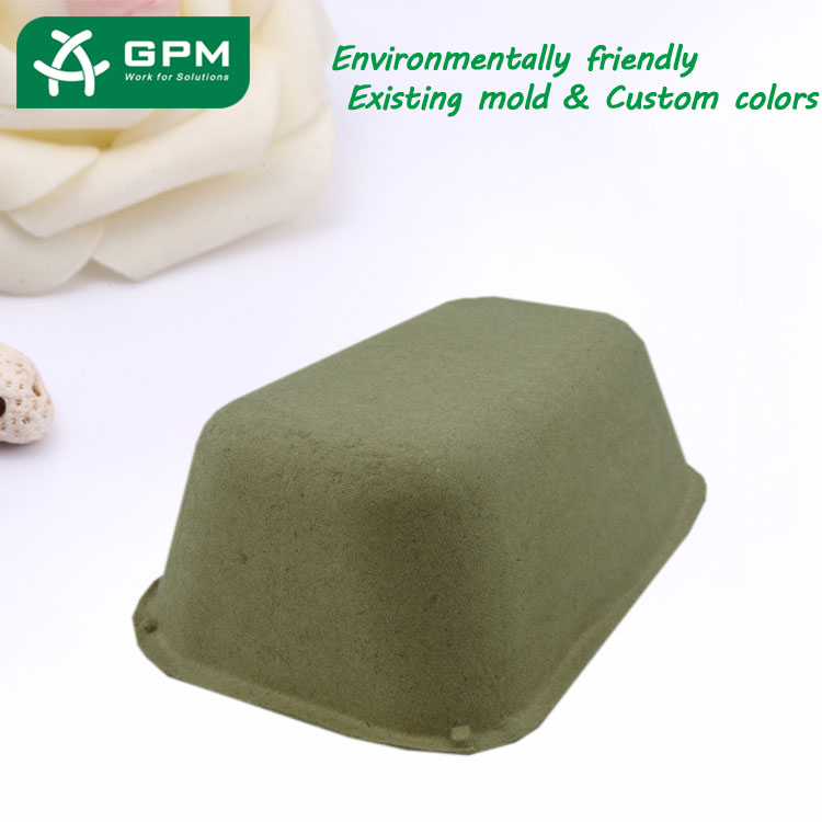 China Biodegradable Pulp Paper Tray