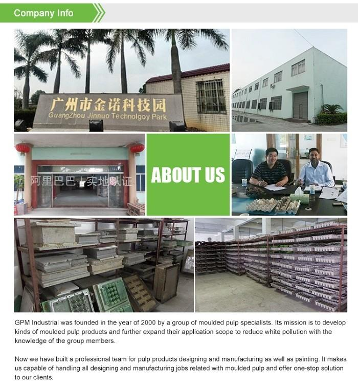 Pulp Packaging Tray factory