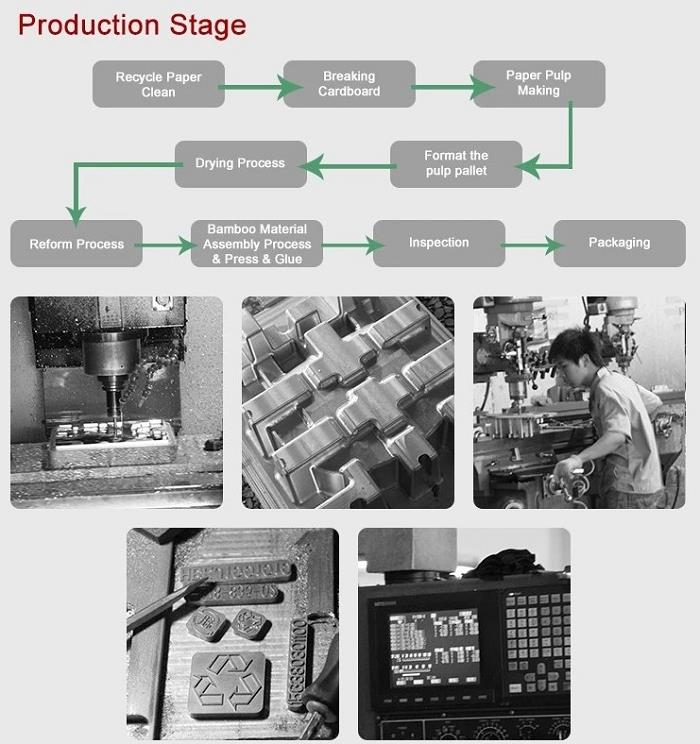 Pulp Packaging Tray making