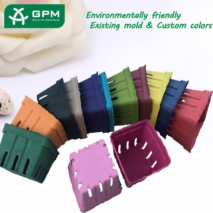 China Paper Pulp Fruit Tray