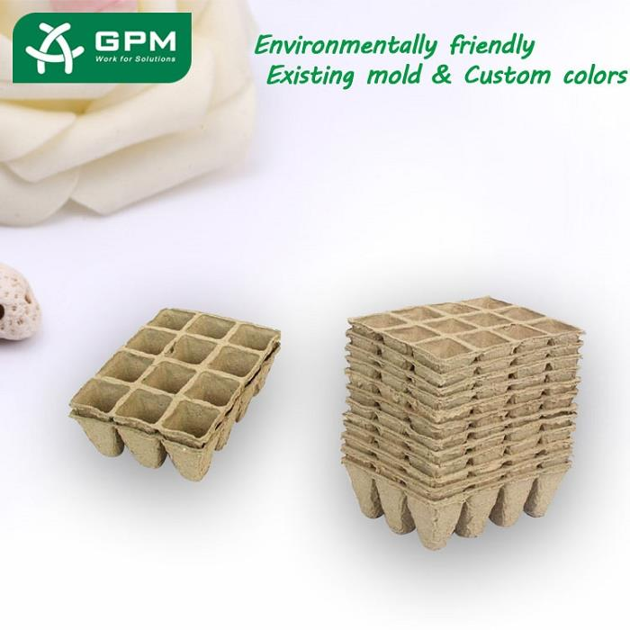 China Paper Seedling Trays
