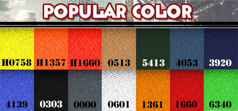 5.Product Available Color of the Cotton Fireproof Coverall.jpg