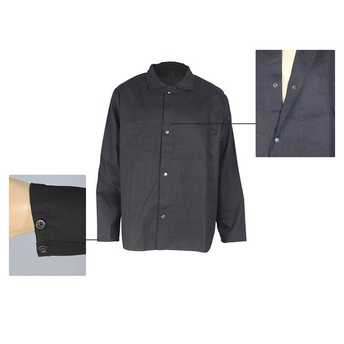 details of aramid flame retardant shirt
