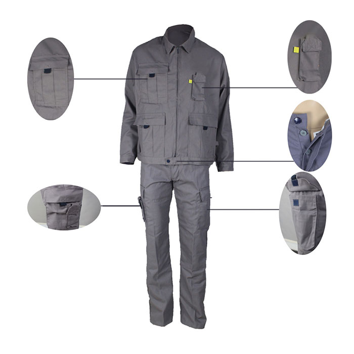 Anti Arc Work Wear details display