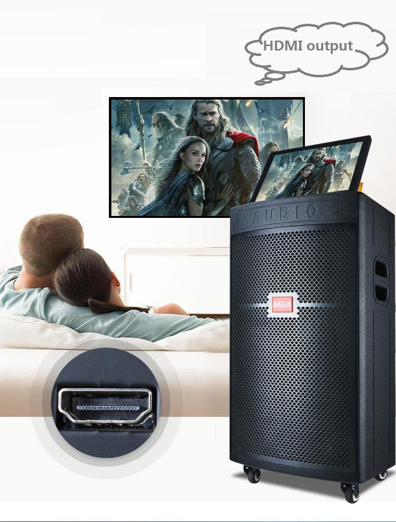 High Resulotion Touch Screen Wifi KTV Sound Base